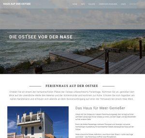 Das Haus auf der Ostsee